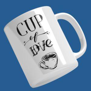 cup of love bögre