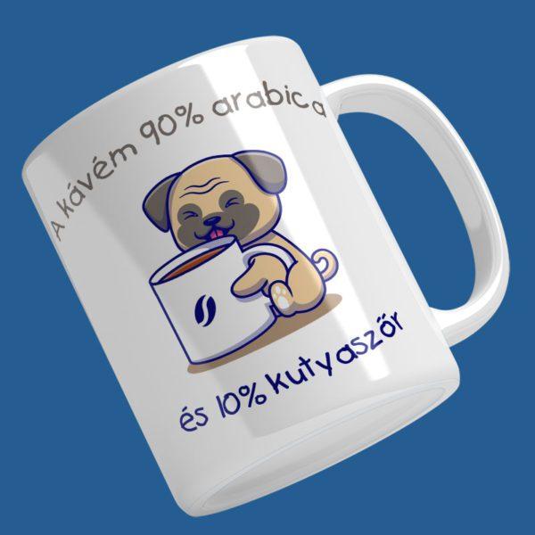 a kávém 90% arabica...bögre