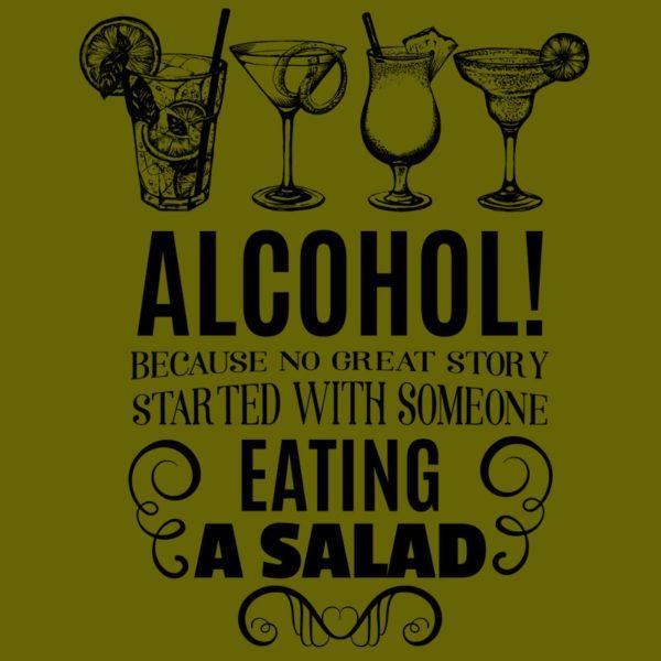 alcohol minta