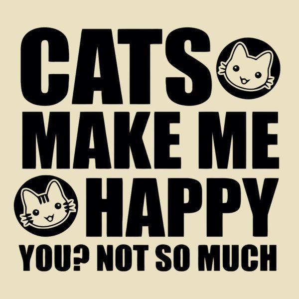 cats make me happy minta