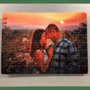 A4-es puzzle fényképpel