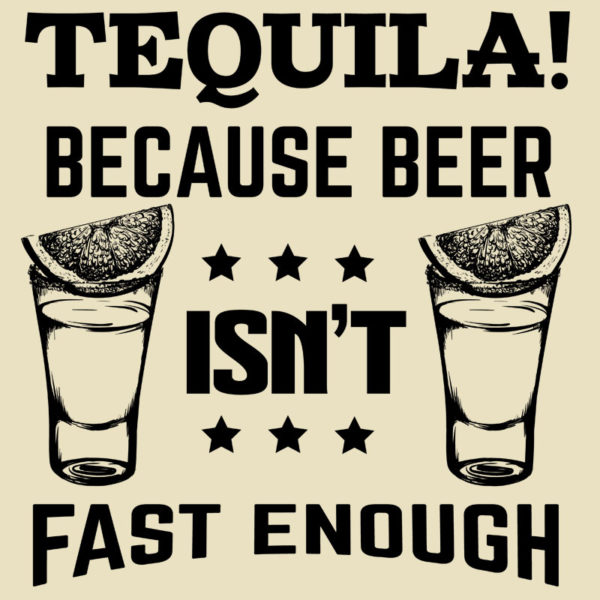 tequila because minta